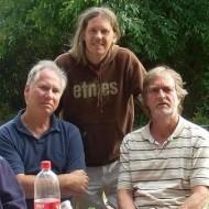 Bertrand, Olivier Bégué et Christian Piednoir