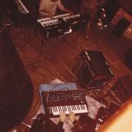 Répétion avec Lionel en 1983